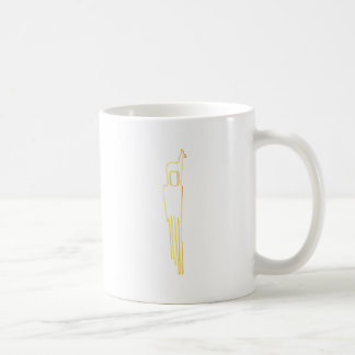 Egyptian Gazelle Comb Coffee Mug