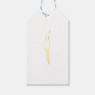 Egyptian Gazelle Comb Gift Tags