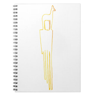 Egyptian Gazelle Comb Notebook