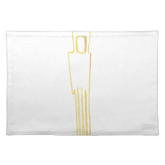 Egyptian Gazelle Comb Placemat