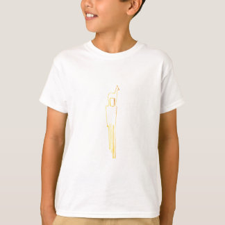 Egyptian Gazelle Comb T-Shirt