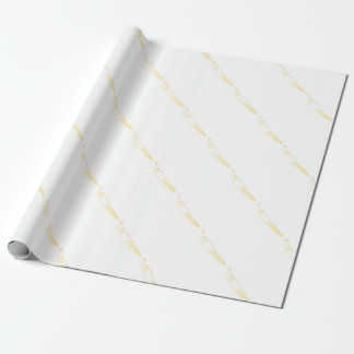 Egyptian Gazelle Comb Wrapping Paper