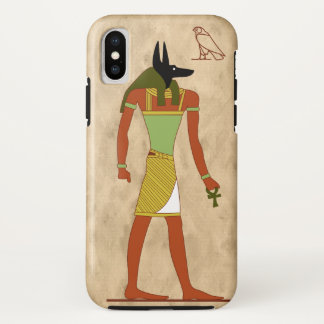 Egyptian God Anubis iPhone X Case