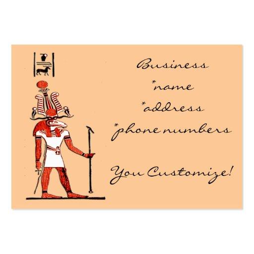 Egyptian God Design Business Cards