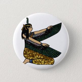 egyptian goddess 2 inch round button