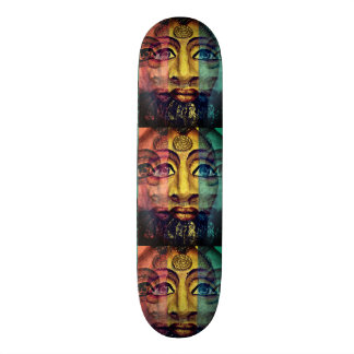 Egyptian goddess beautiful painting skateboard