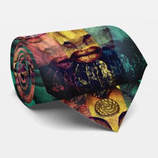 Egyptian goddess beautiful painting tie