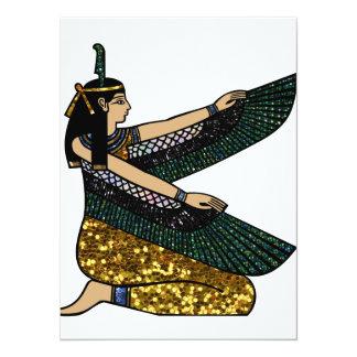 egyptian goddess card