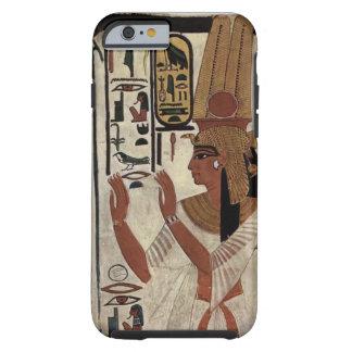 Egyptian goddess hieroglyphics pattern tough iPhone 6 case