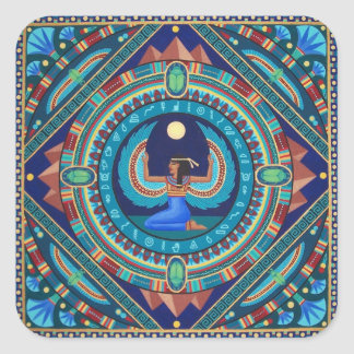 Egyptian Goddess Isis stickers by Soozie Wray.
