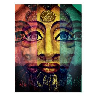 Egyptian Goddess Warrior Postcard