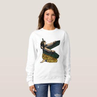 egyptian goddess womens sweatshirt