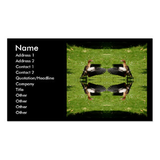Egyptian Goose Double-Sided Standard Business Cards (Pack Of 100)