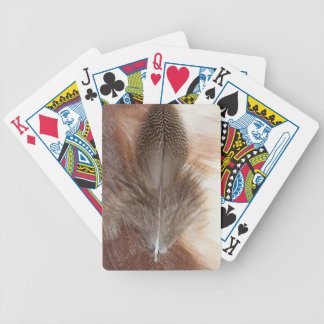 Egyptian Goose Feather Still Life Bicycle Playing Cards