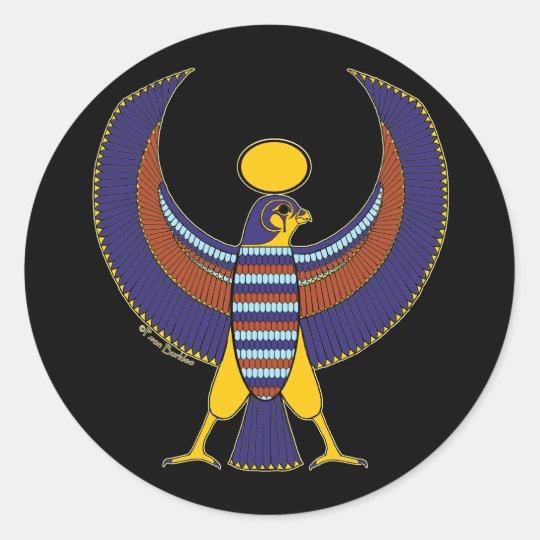 Egyptian hieroglyphic Horus Falcon Stickers #1