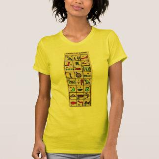 Egyptian Hieroglyphics, Alphabetic Symbols T-Shirt