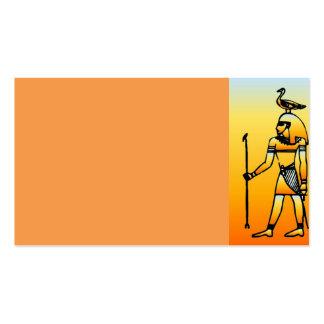 Egyptian Hieroglyphics Business Card