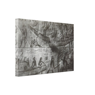 Egyptian Hieroglyphics Canvas Print