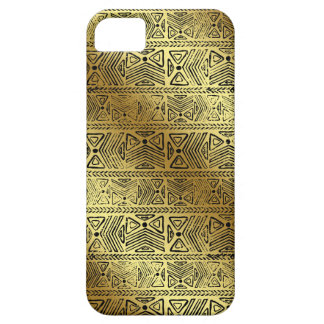 Egyptian Hieroglyphics Gold Black iPhone 5 Cover