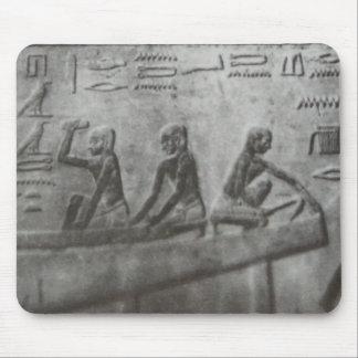 Egyptian Hieroglyphics Mouse Pad