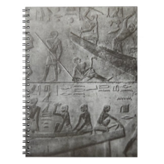 Egyptian Hieroglyphics Spiral Note Books