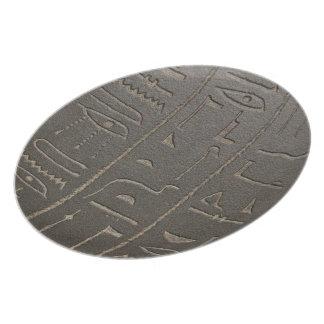 Egyptian Hieroglyphs Ancient Egypt Writing Symbols Dinner Plates