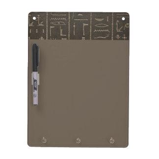 Egyptian Hieroglyphs Ancient Egypt Writing Symbols Dry Erase Board