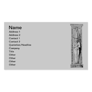 Egyptian Hieroglyphs Business Card