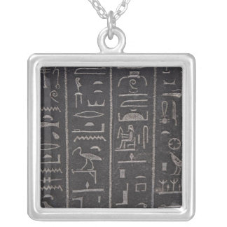 Egyptian Hieroglyphs Necklace