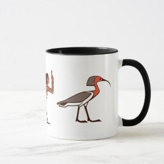 Egyptian Ka, Ba,  & Akh Mug