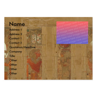 Egyptian   large business card