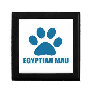 EGYPTIAN MAU CAT DESIGNS GIFT BOX