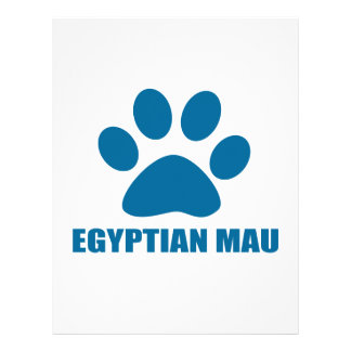 EGYPTIAN MAU CAT DESIGNS LETTERHEAD