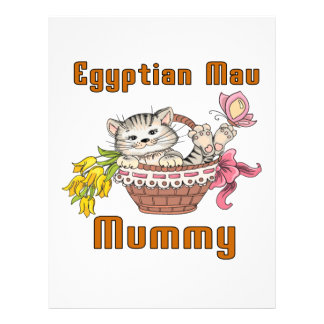 Egyptian Mau Cat Mom Letterhead