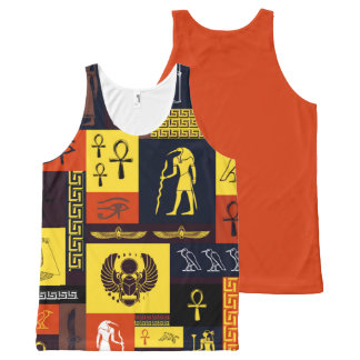 Egyptian Montage All-Over-Print Tank Top