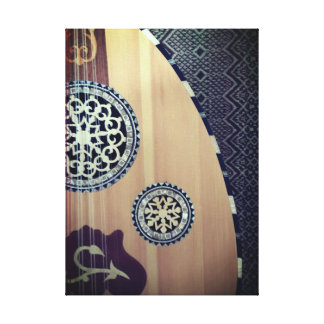 Egyptian Oud Middle Eastern Lute Canvas Print
