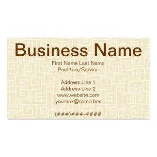 Egyptian Pack Of Standard Business Cards
