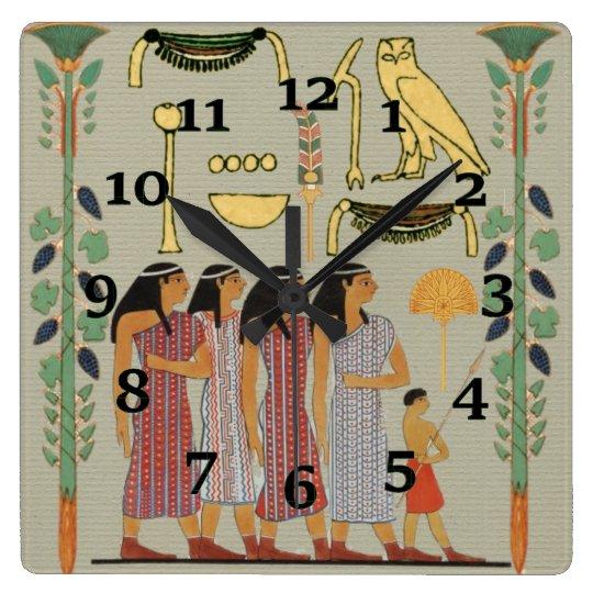 Egyptian Painting Clocks