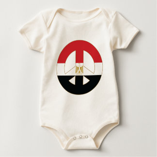 Egyptian Peace Symbol Baby Bodysuit