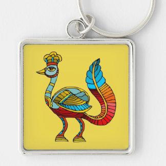 Egyptian Peacock Premium Keychain