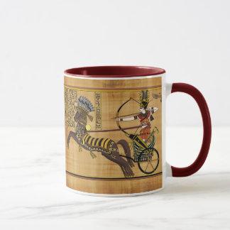 Egyptian Pharaoh Ramesses II & Chariot at Kadesh Mug