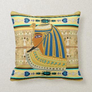 Egyptian Pharaoh Throw Pillow