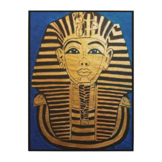 Egyptian Pharaoh Wood Wall Art