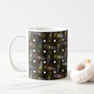 Egyptian Princess Abstract Cross Weave Pattern, Coffee Mug
