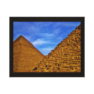 Egyptian Pyramids at Giza Canvas Print