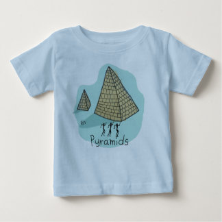 Egyptian Pyramids by Michael Baby T-Shirt