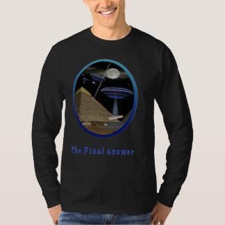 Egyptian pyramids creation UFO T-Shirt