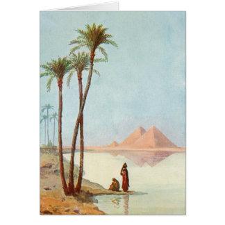 Egyptian Pyramids Greeting Card