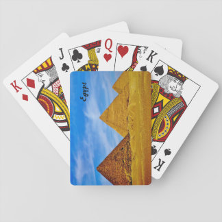 Egyptian Pyramids Playing Cards