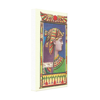 Egyptian Queen Amenophis Canvas